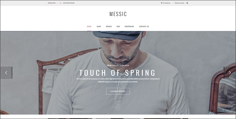 ARW Messic - Fashion Magento Theme