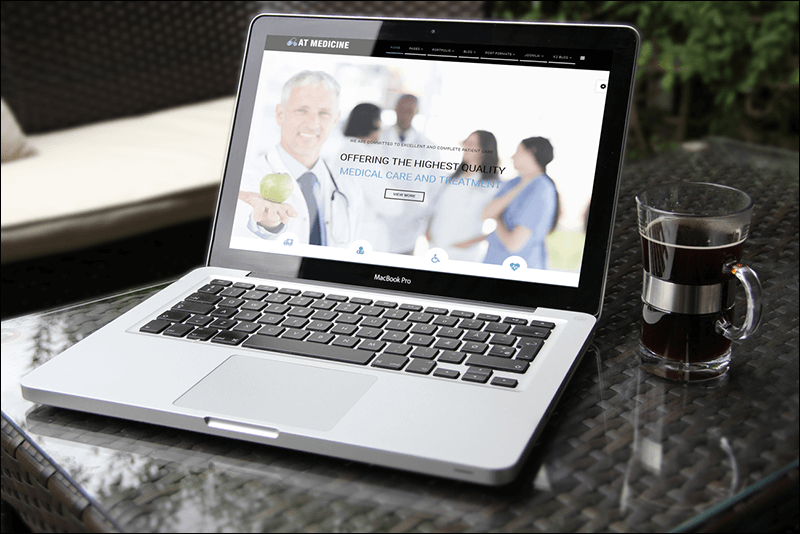AT Medicine Onepage Joomla Template