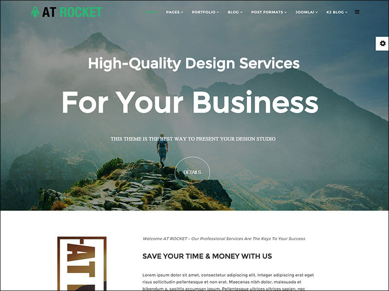 AT Rocket Joomla Template