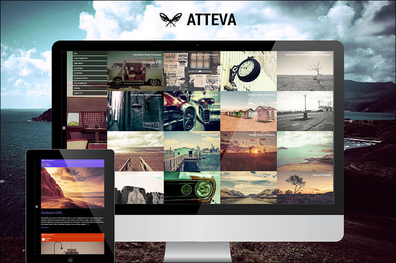 Atteva - Creative Blog and Portfolio