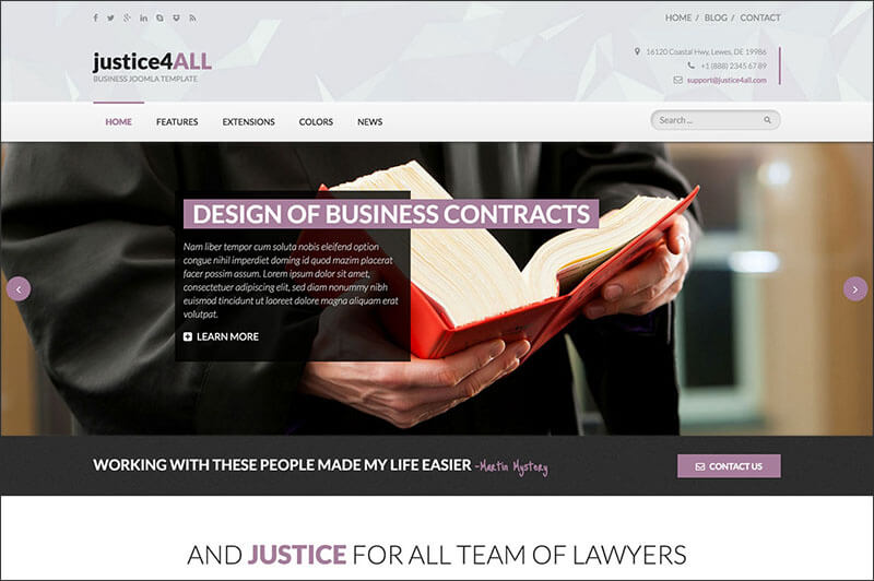 Attorney Law Hot Justice