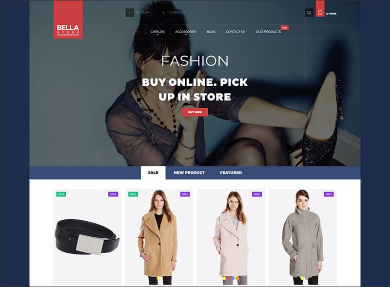 Bella Shopify Theme