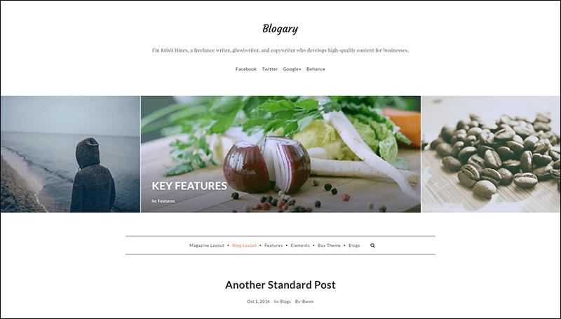 Blogary Paid Content Blog Magazine WordPress Theme