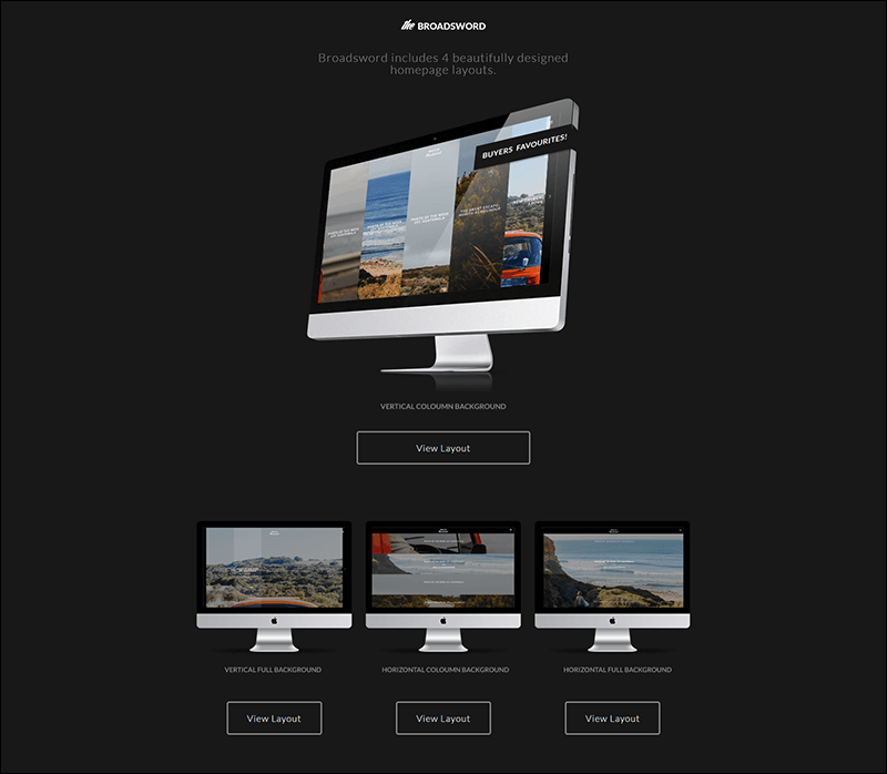 Broadsword – Responsive WordPress Blog Theme