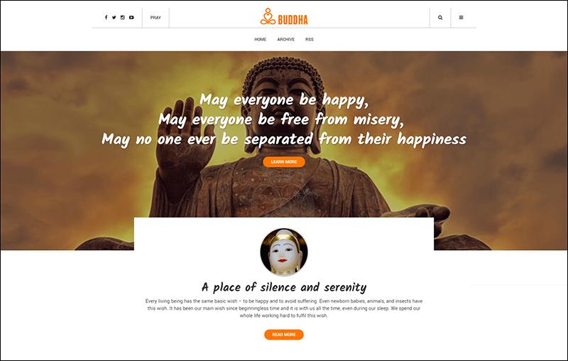 Buddha Tumblr Theme