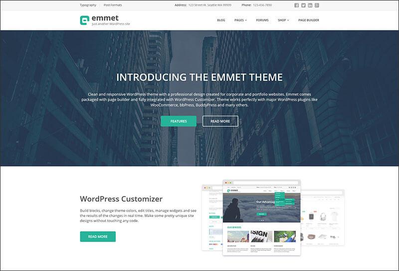 Business Responsive Corporate WordPress Theme