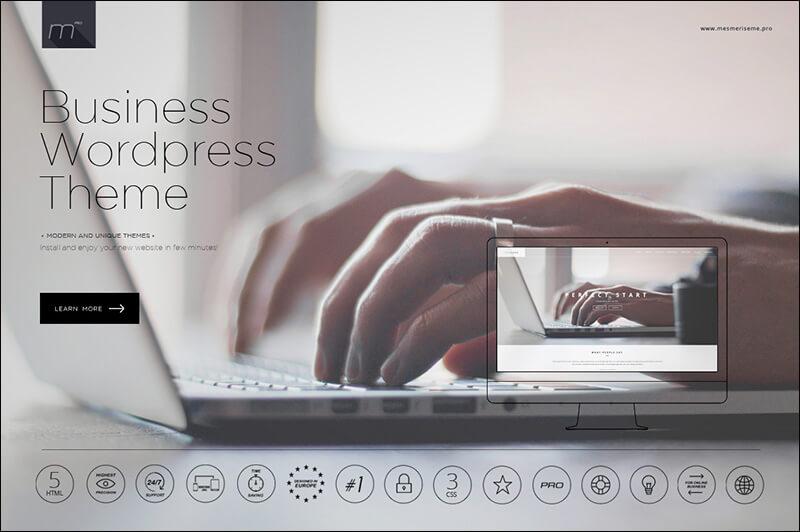 Business WP Theme One Page WordPress