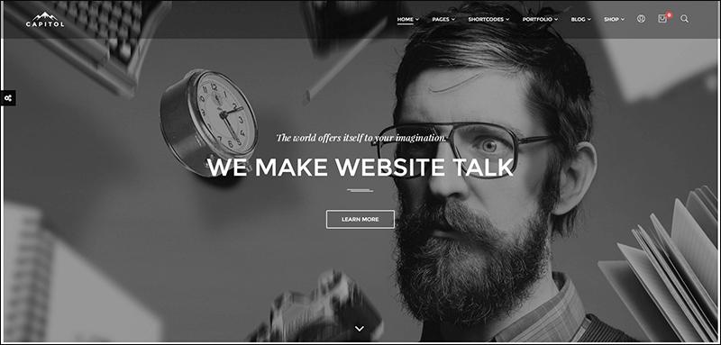 Capitol - Creative Multipurpose Joomla Template