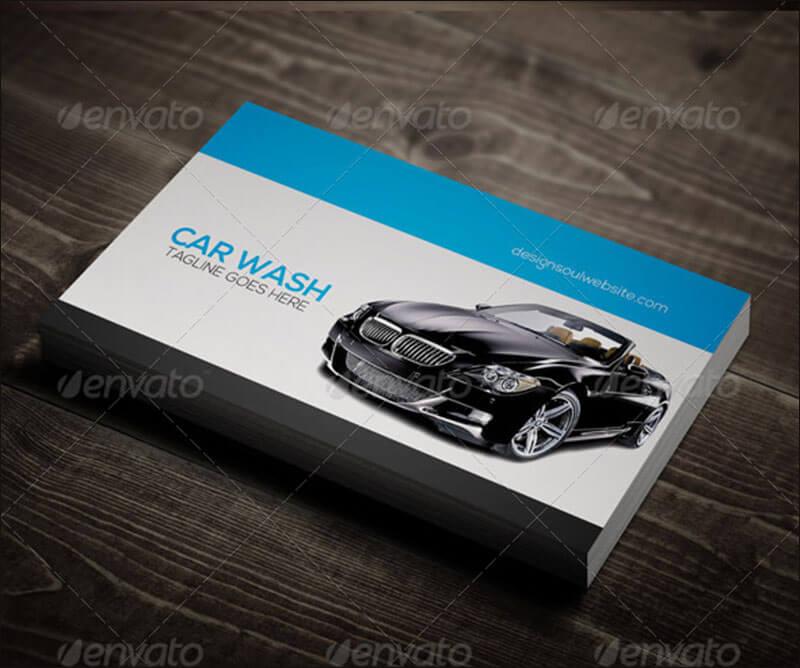 Car Wash Business Card 2