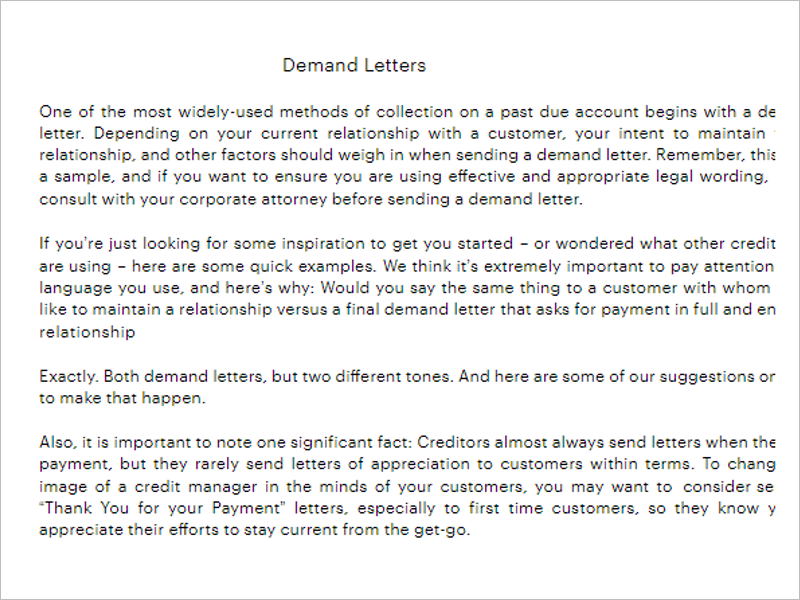 Complaint Formal Letter Template