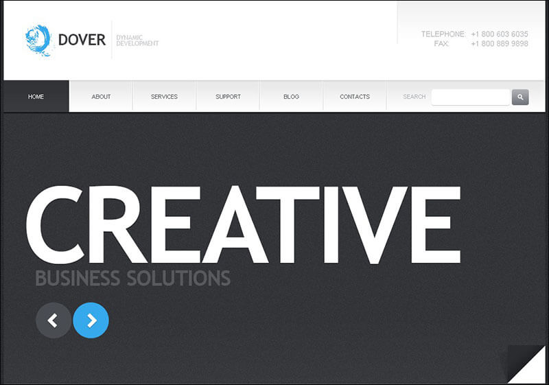 Creative Consulting Joomla Template