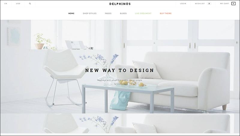 Delphinus - Creative Multi-Purpose Shopify Theme
