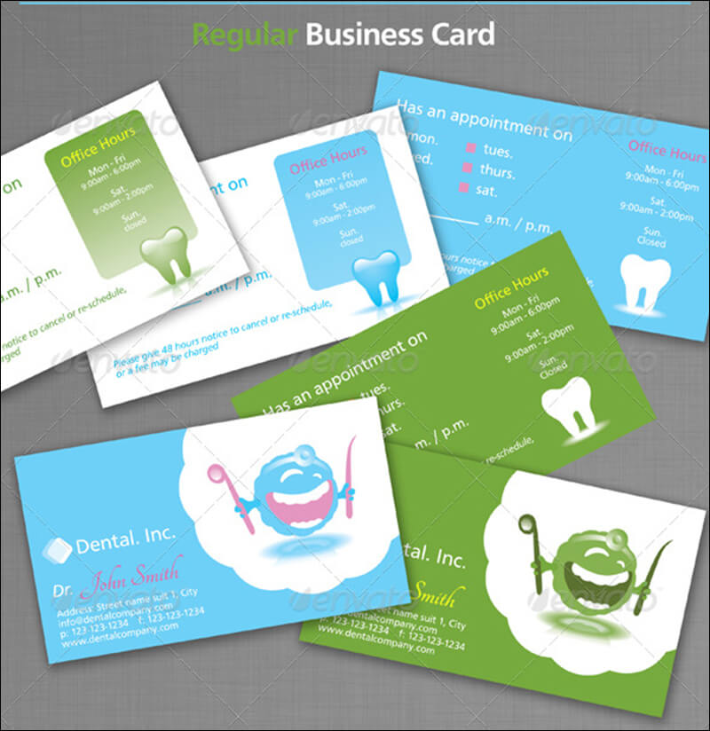 31 dental business card templates free psd vector download dental business cards accmission Choice Image