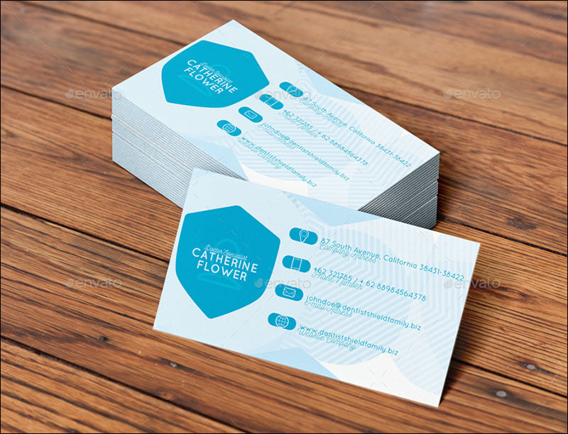 Dental Business Card Templates - Free PSD, Vector Download ...