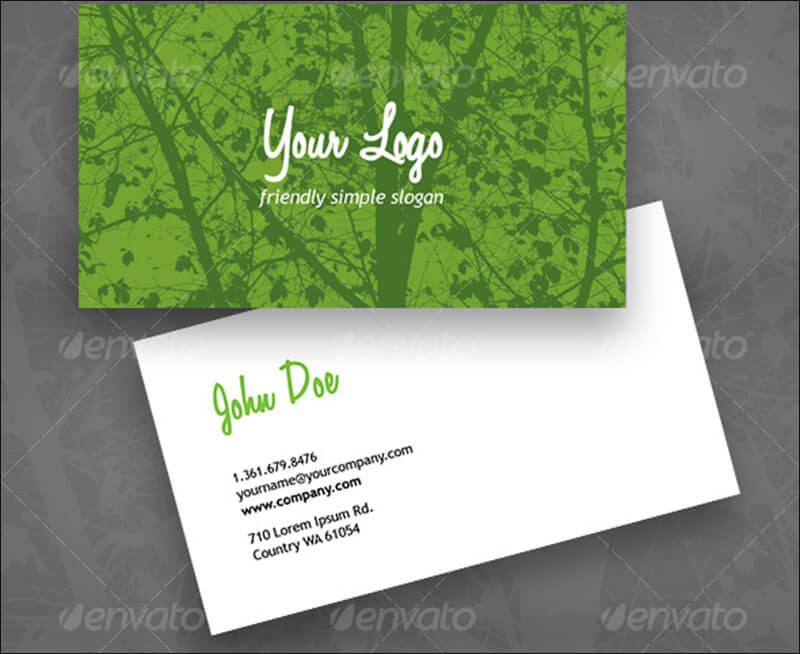 Environment Business Card Templates | Free & Premium | Creative ...