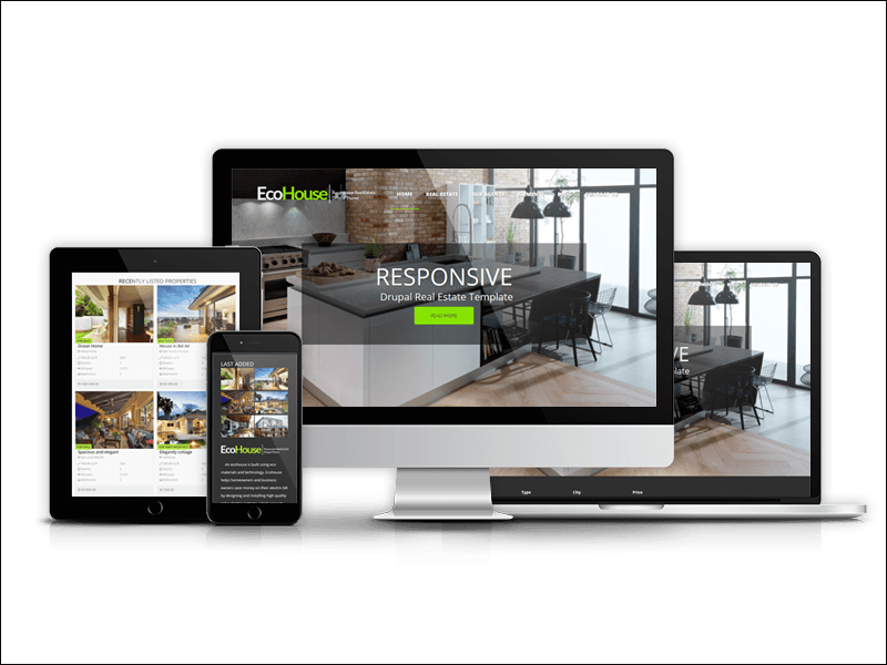o House - Real Estate Drupal Theme