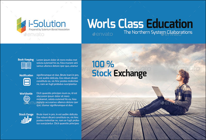 Education and Business Post Cards