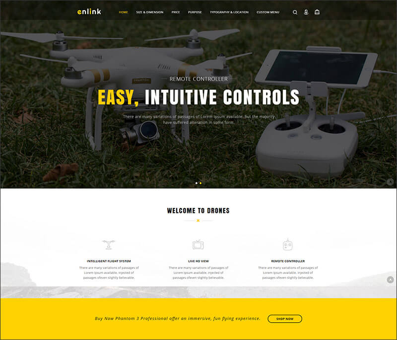 Enlink - Single Product Magento Theme