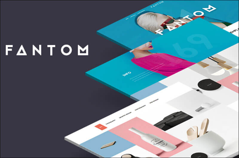Fantom - Creative Joomla template