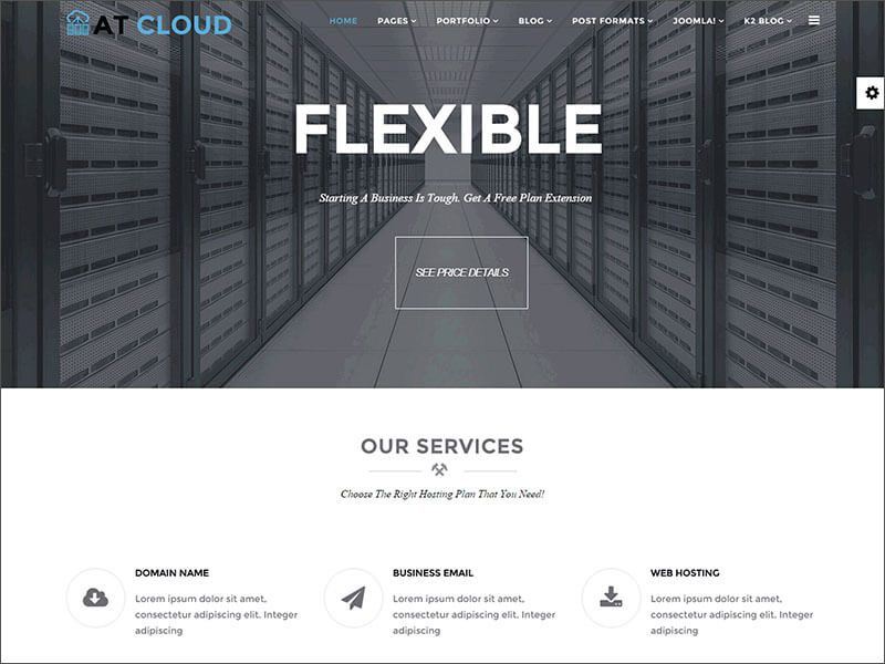 Flexible Joomla Template
