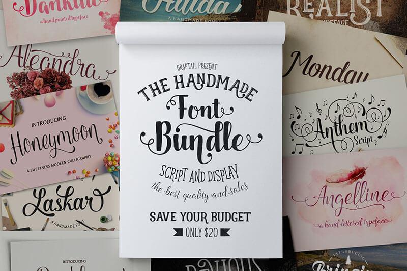 Font Bundle - Graptail