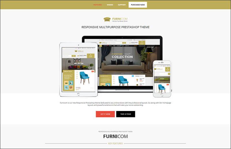 Furnicom - Responsive Prestashop Furniture Theme