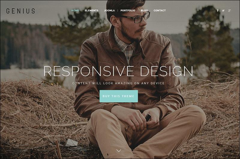 Genius - Elegant design for modern business