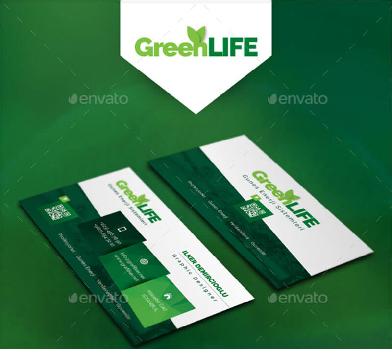 11+ Environment Business Card Templates Free Designs