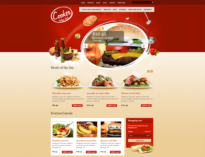 HTML5 & CSS3 Elegant Drupal Theme