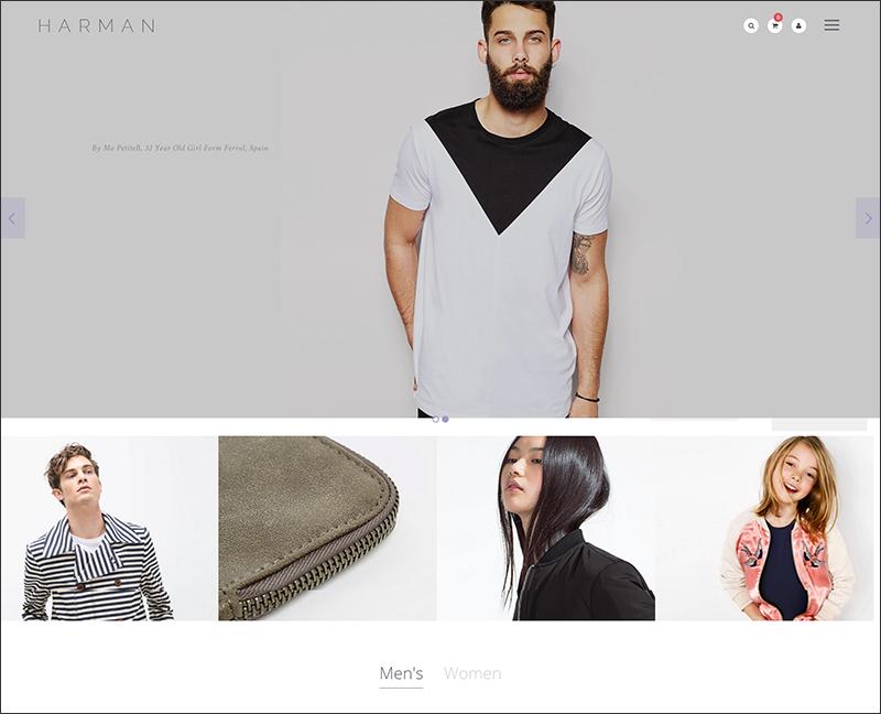 Harman - A Genuinely Multi-Concept Shopify Theme