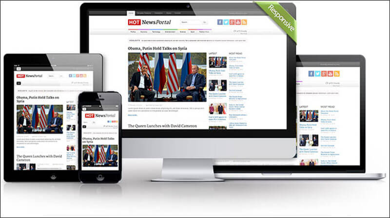 Hot News Portal