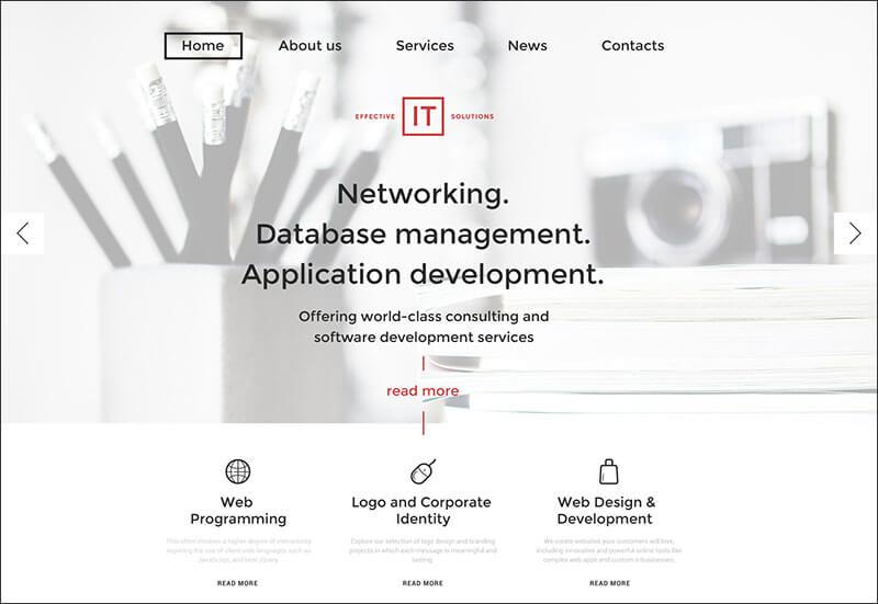 IT Solutions WordPress Theme