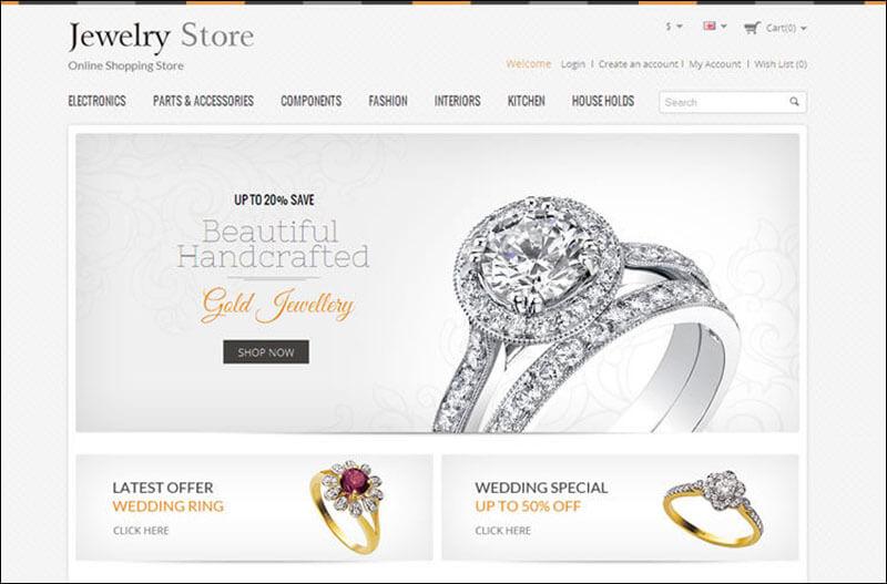 Jewelery Store – Responsive Opencart Theme
