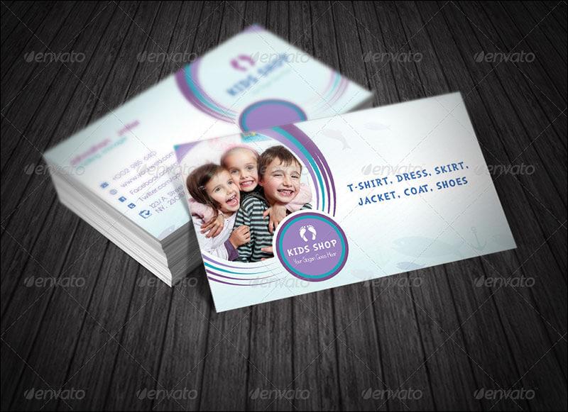 Kids Business Card