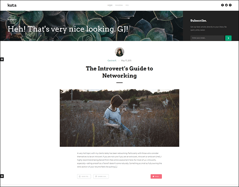 Kuta Responsive Ghost Theme - Copy