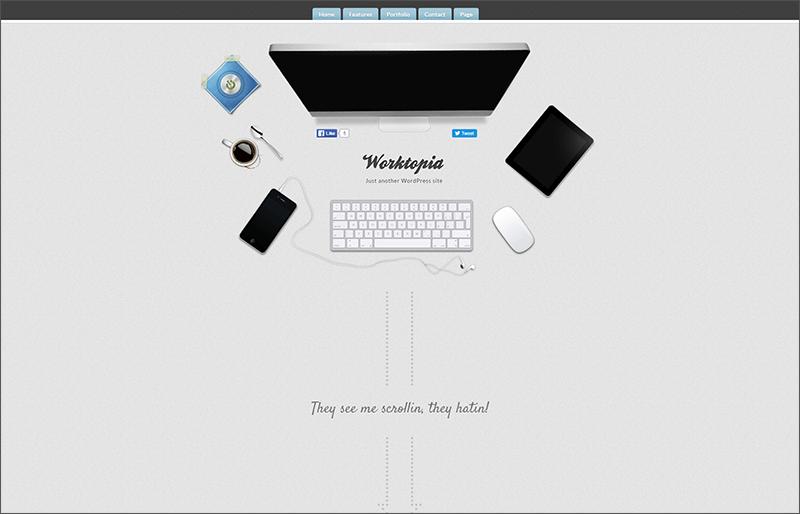 Latest WordPress Theme HTML5 & CSS3
