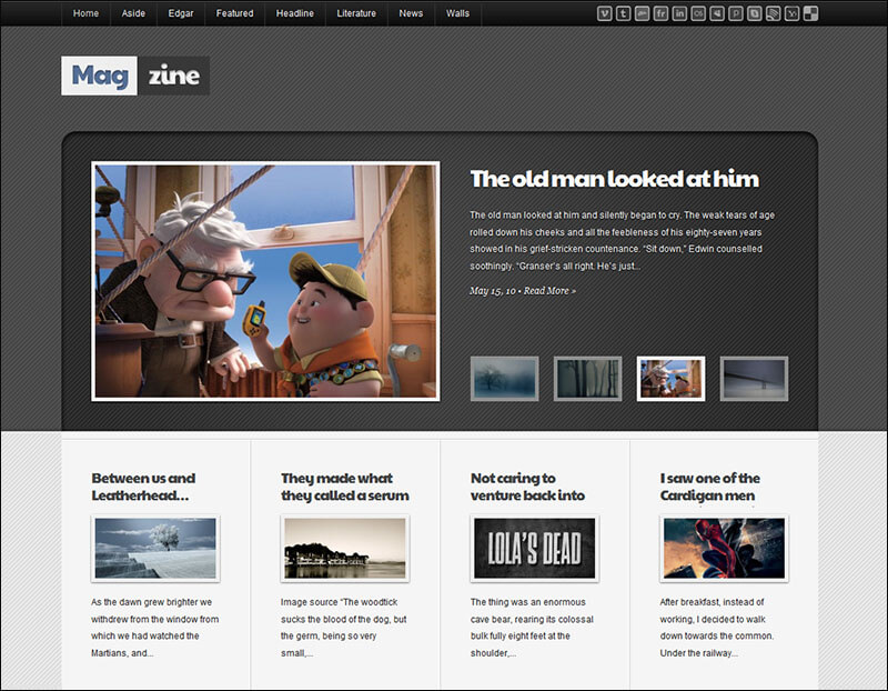 Clean Magazine drupal Theme