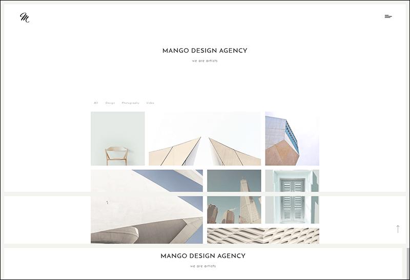 Mango – Portfolio WP Theme