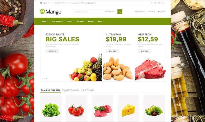 Mango - Ultimate Responsive Prestashop Theme