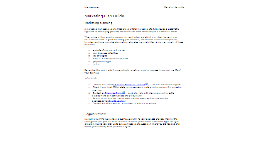Marketing Strategy Planning Guide
