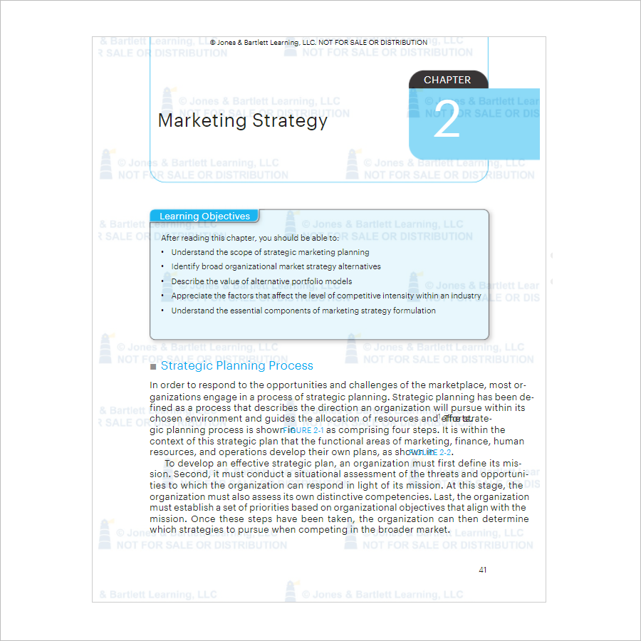 Marketing Strategy Planning Template Free Download