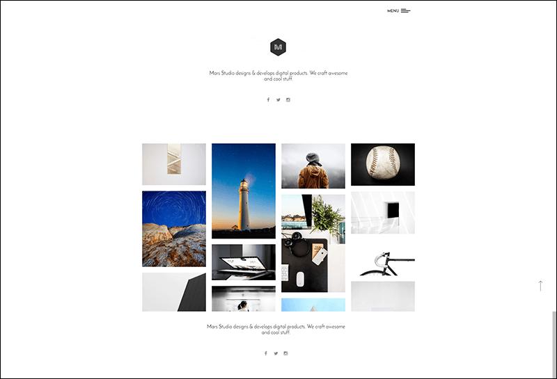 Mars – Portfolio WP Theme