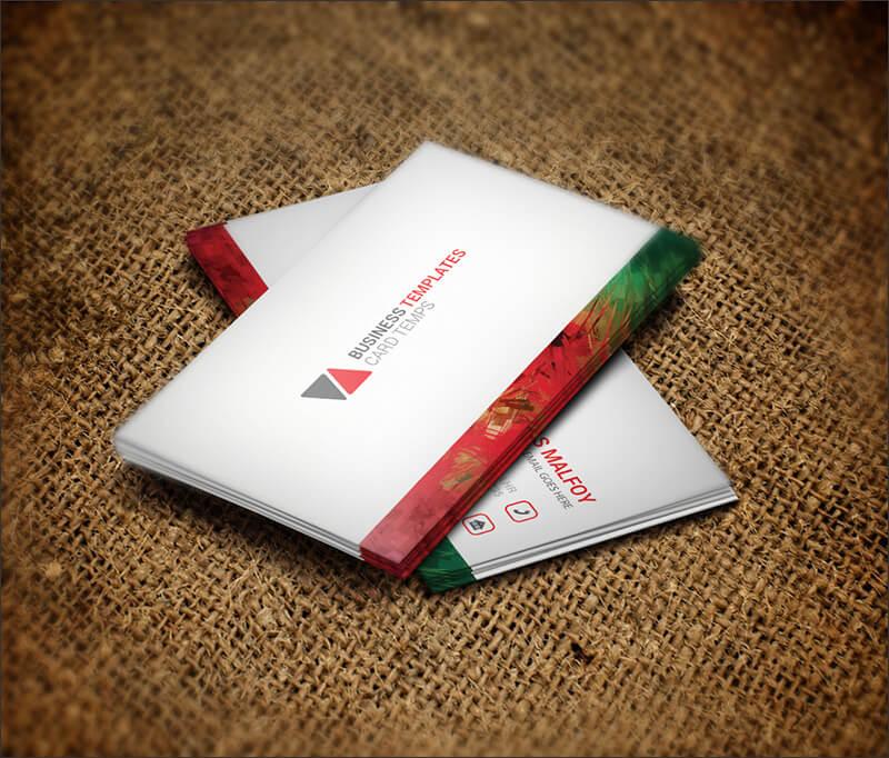 Meditation Business Card Template