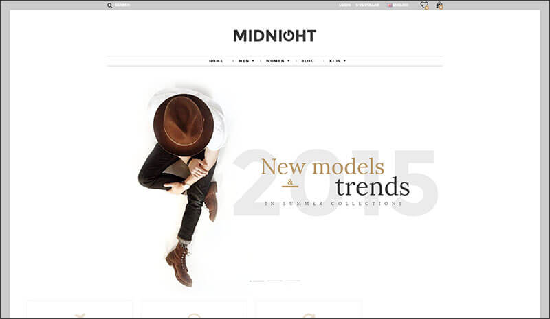 Midnight - Responsive Opencart Theme