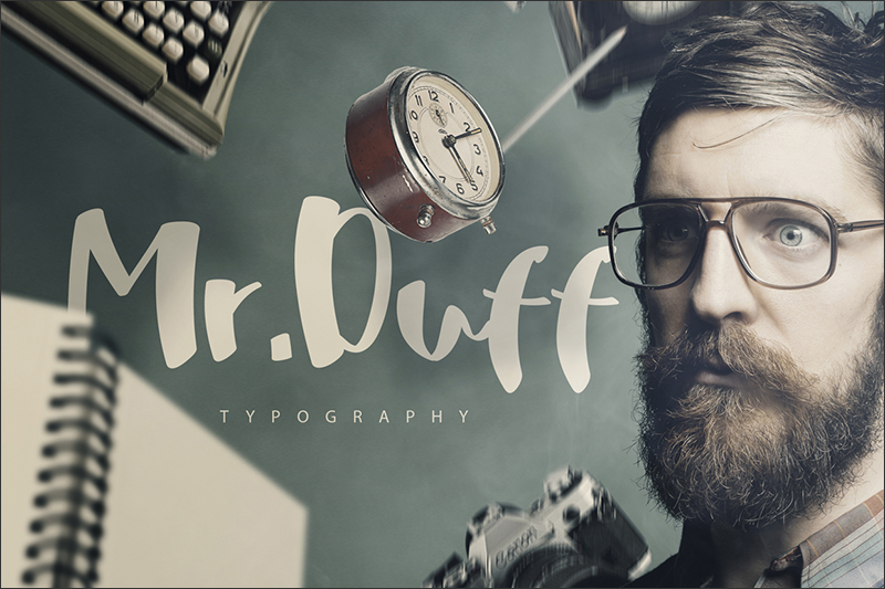 Mr. Duff Typeface [-50% Intro offer]