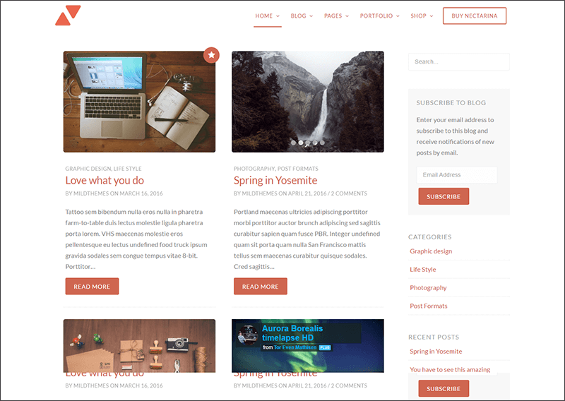 Multi-Purpose WordPress Blog Theme