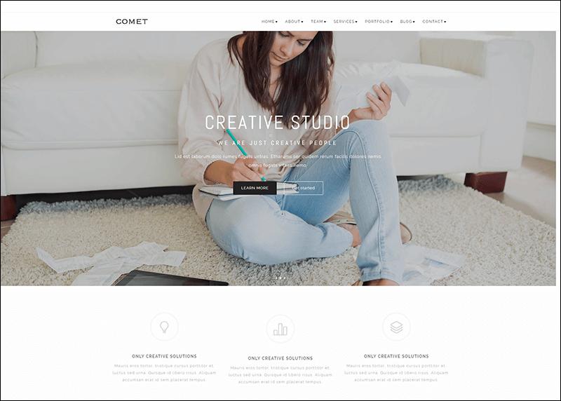 Multipurpose OnePage & Multi Page Template