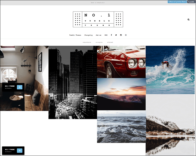 NO.1 Creative Portfolio Theme