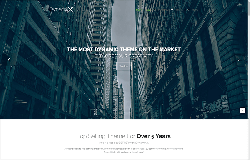 New Business - Corporate WordPress Theme