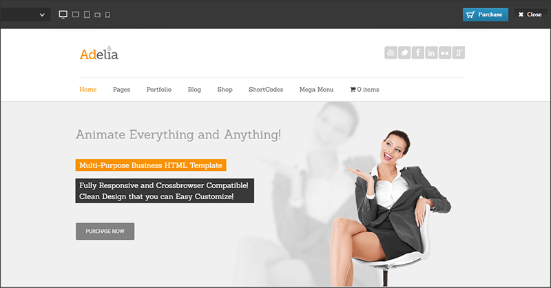 New Corporate WordPress Theme